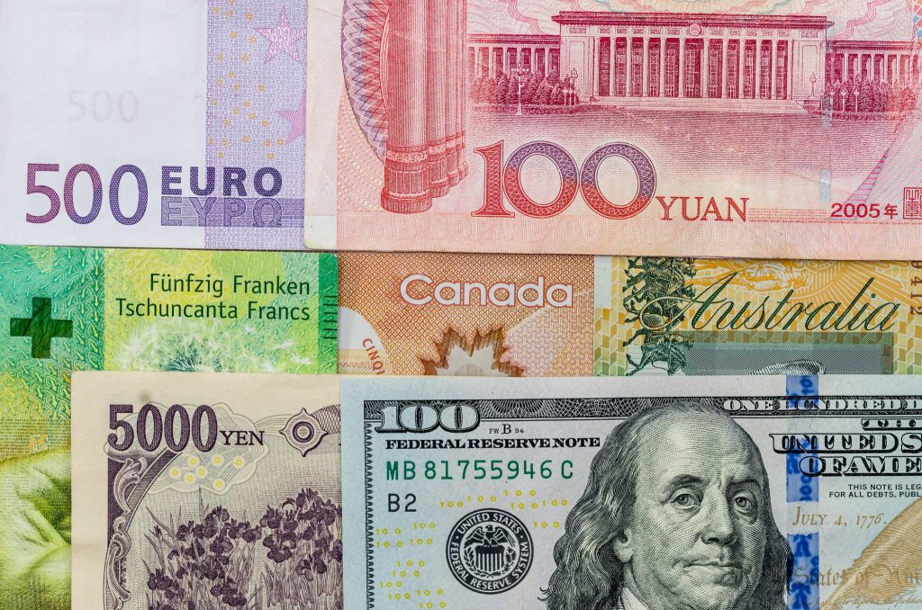 أسعار صرف العملات في سوق الفوركس