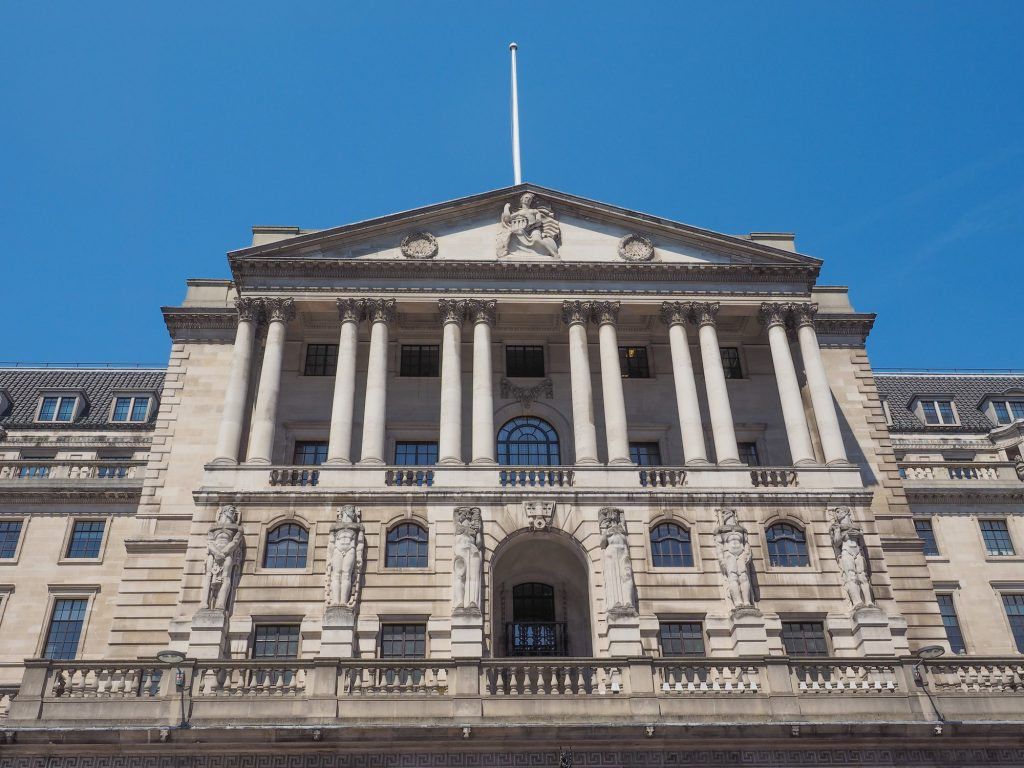 Central Banks - Bank of England