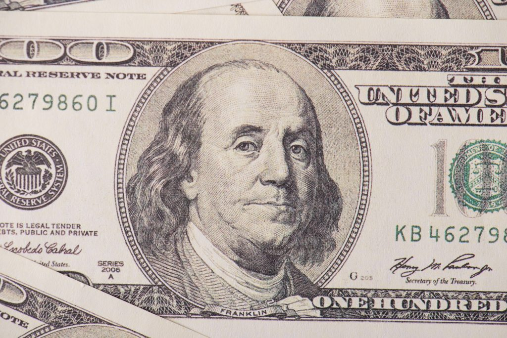 Reserve currency - US Dollar